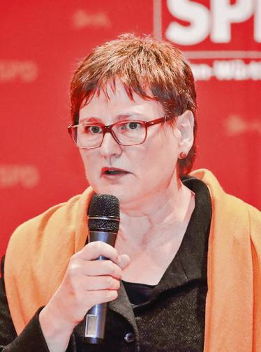 Leni Breymaier (Foto: Waidelich/Redaktion BNN)